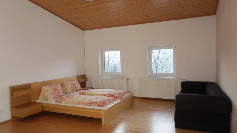 Chata Jawa apartmá ložnice2